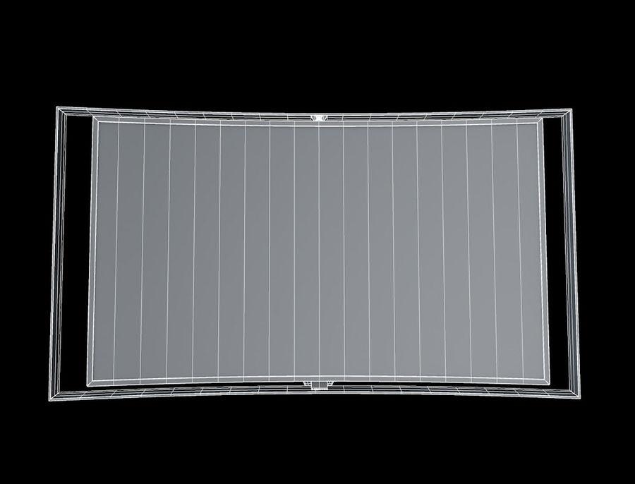 三星智能OLED电视 royalty-free 3d model - Preview no. 9