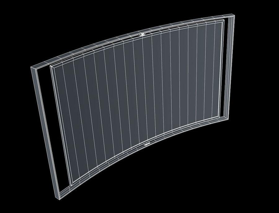 三星智能OLED电视 royalty-free 3d model - Preview no. 8