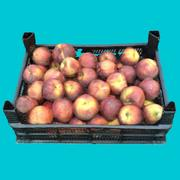 Crate of peaches - version 2 3d model