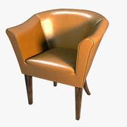 Классический стул_02 3d model