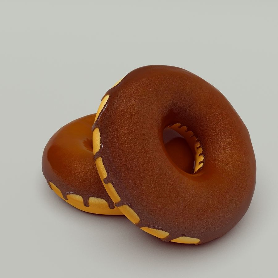 Ciambella royalty-free 3d model - Preview no. 3