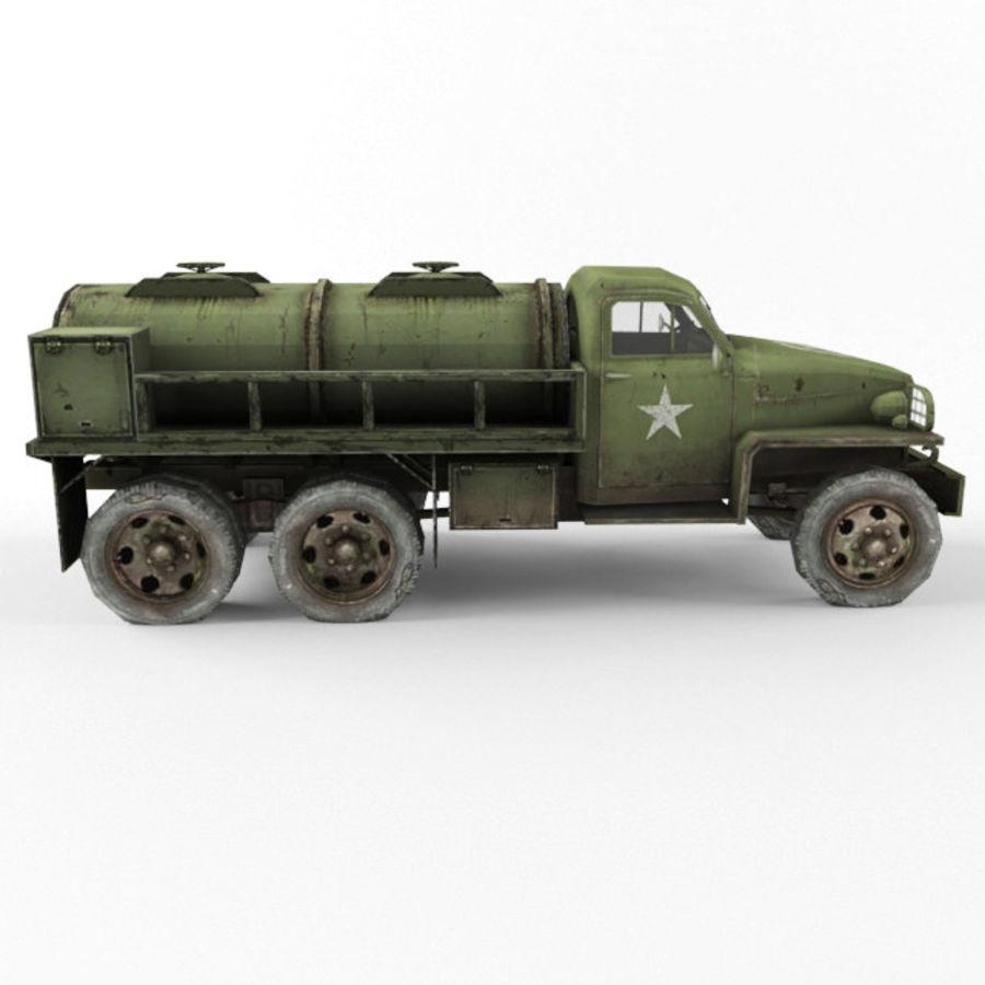 Studebaker US6 Paliwo royalty-free 3d model - Preview no. 6