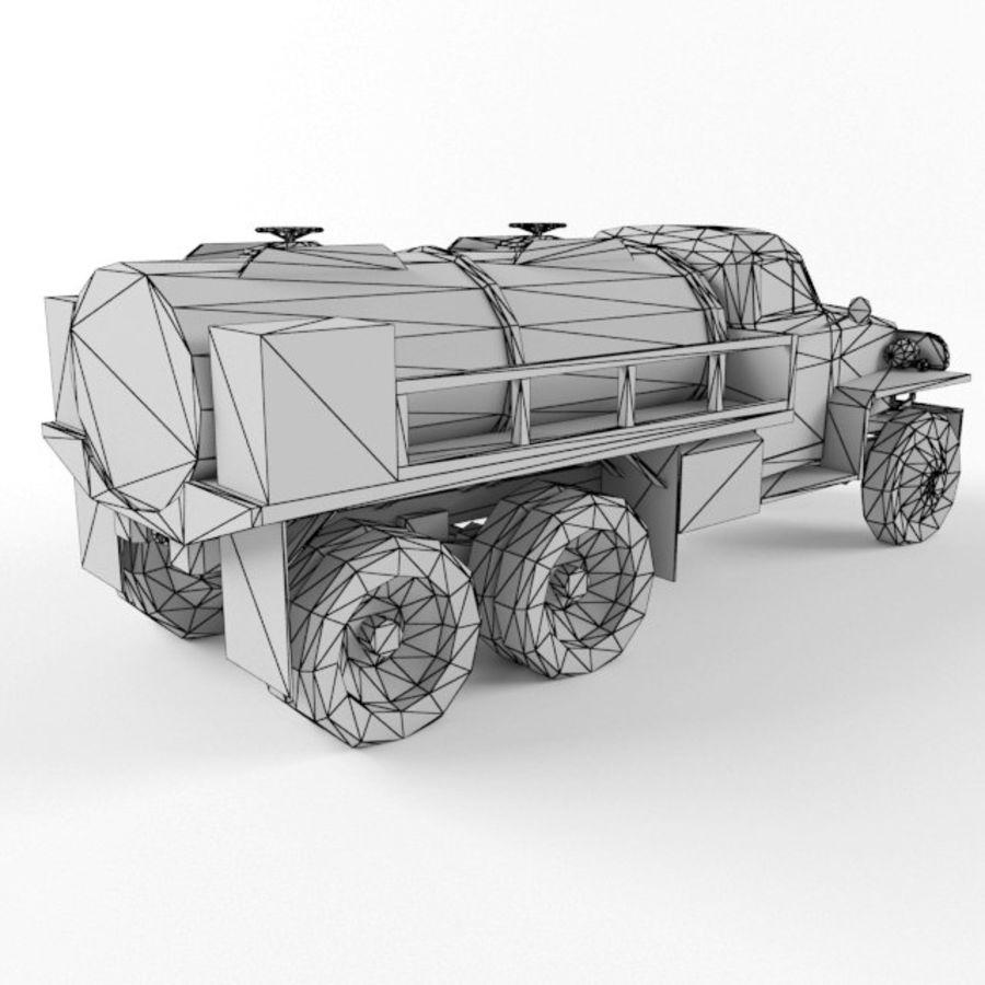 Studebaker US6 Paliwo royalty-free 3d model - Preview no. 10