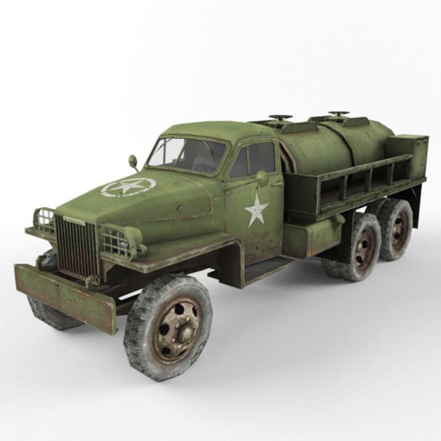 Studebaker US6 Paliwo royalty-free 3d model - Preview no. 1