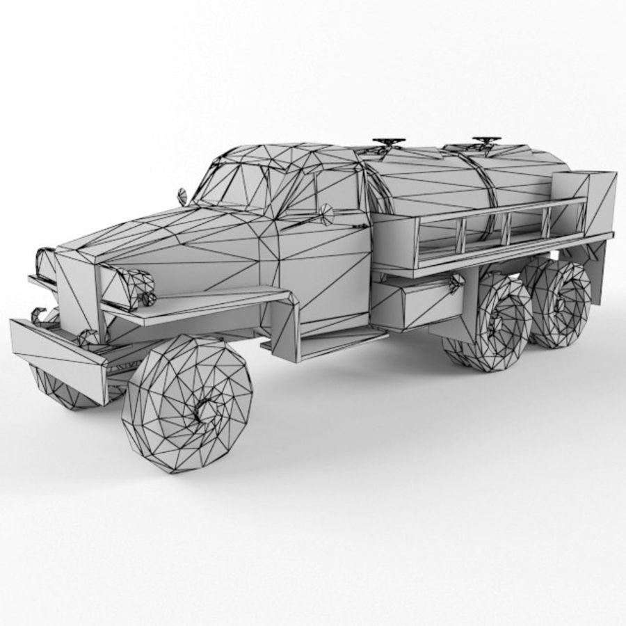Studebaker US6 Paliwo royalty-free 3d model - Preview no. 9