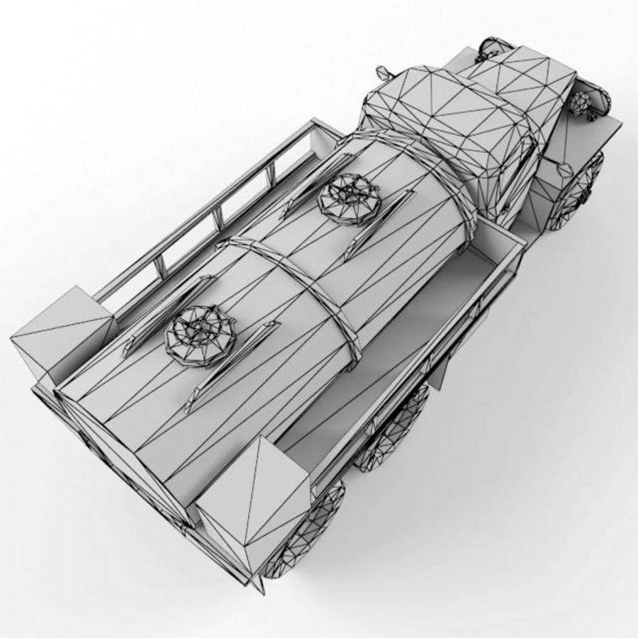 Studebaker US6 Paliwo royalty-free 3d model - Preview no. 11