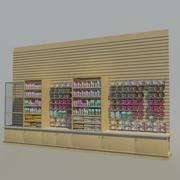 Животные товары Стена 01 3d model