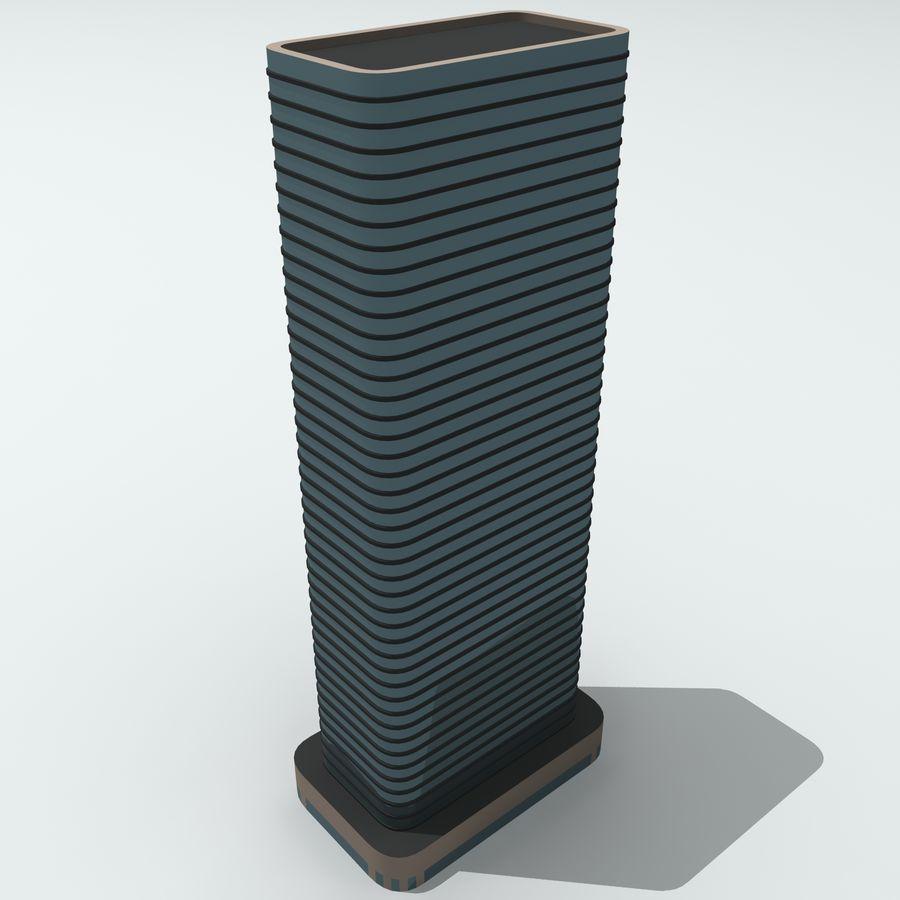 Gebäude der Stadt royalty-free 3d model - Preview no. 20