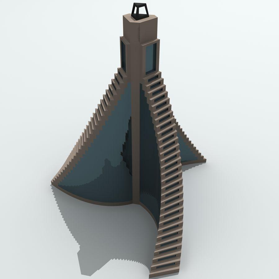 城市建筑 royalty-free 3d model - Preview no. 18