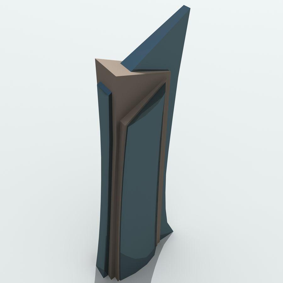 Gebäude der Stadt royalty-free 3d model - Preview no. 24
