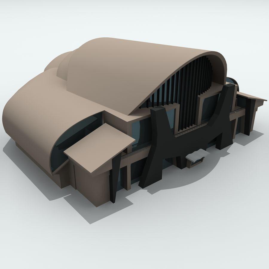 Gebäude der Stadt royalty-free 3d model - Preview no. 7