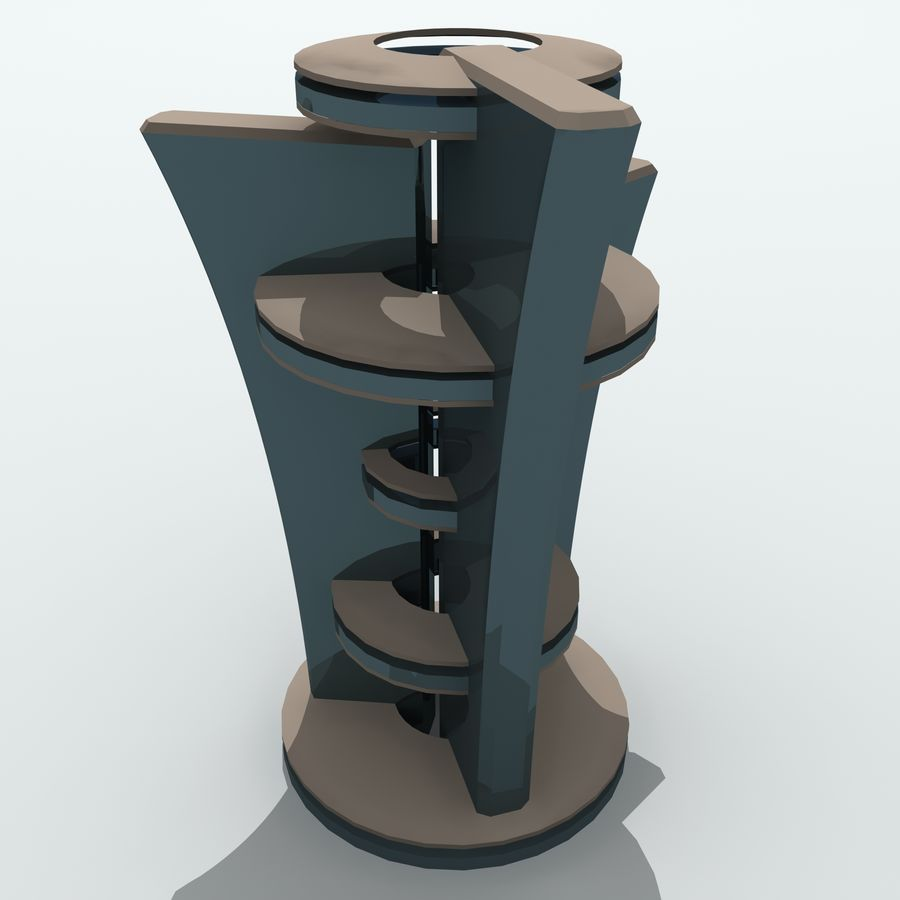 City Buildings royalty-free 3d model - Preview no. 25