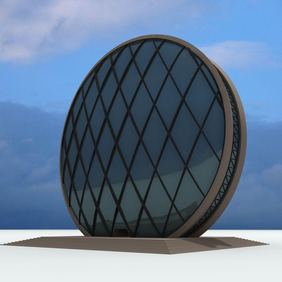 Gebäude der Stadt royalty-free 3d model - Preview no. 14