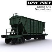 Wagon Hopper 3d model