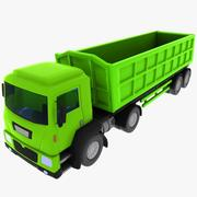 Cartoon Truck 2 3d model