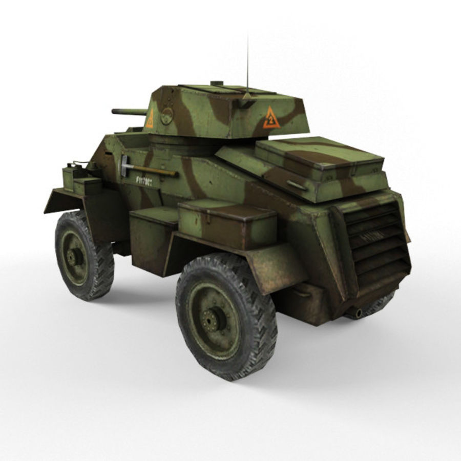 Humber royalty-free 3d model - Preview no. 3