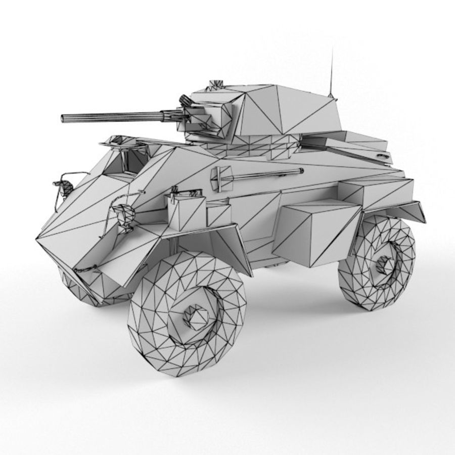 Humber royalty-free 3d model - Preview no. 9