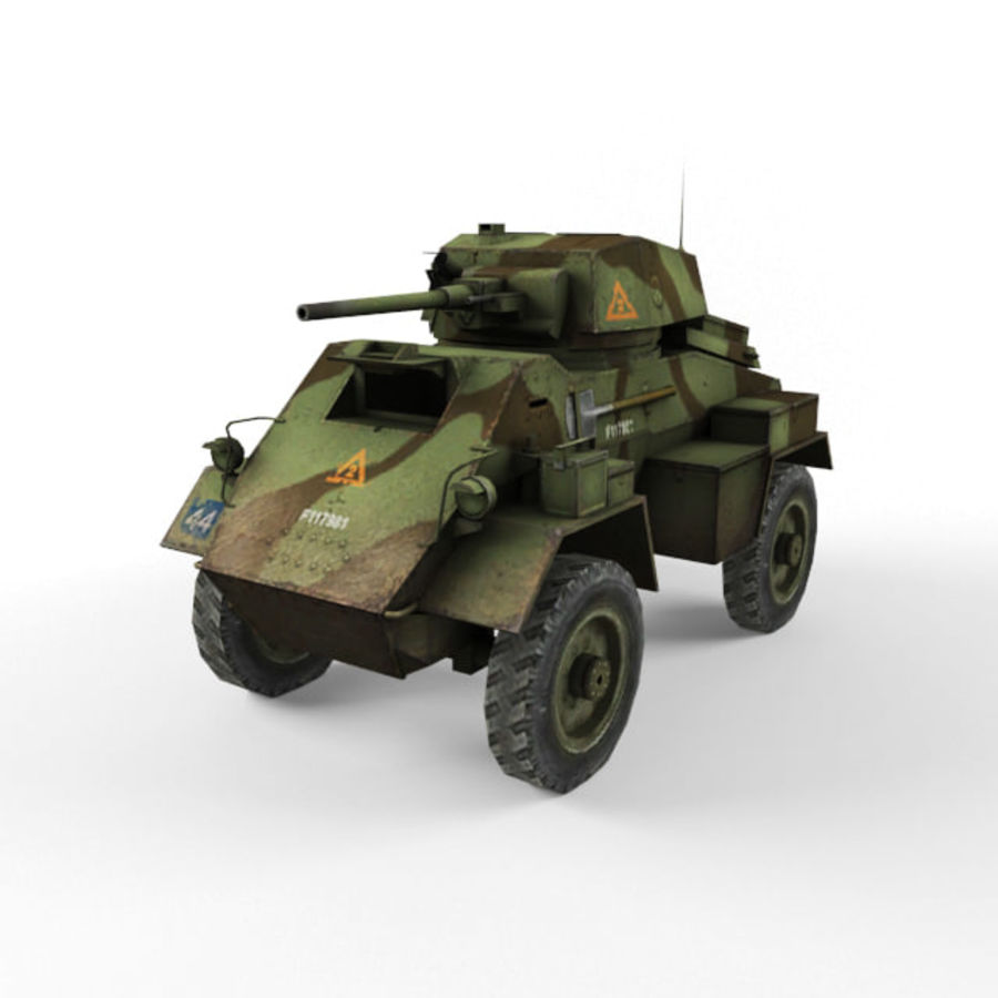 Humber royalty-free 3d model - Preview no. 1