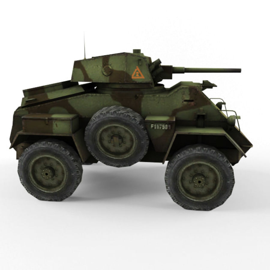 Humber royalty-free 3d model - Preview no. 6