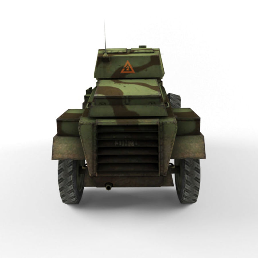 Humber royalty-free 3d model - Preview no. 4