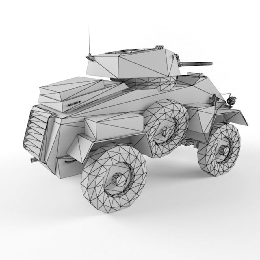 Humber royalty-free 3d model - Preview no. 10