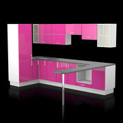 Kitchen IKEA Factum 3d model