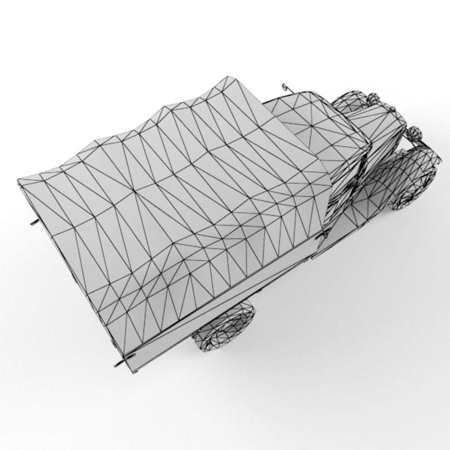 Gaz mm royalty-free 3d model - Preview no. 11