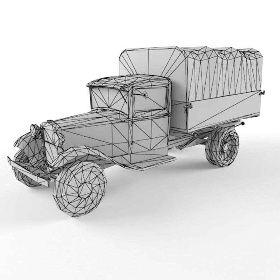 Gaz mm royalty-free 3d model - Preview no. 9