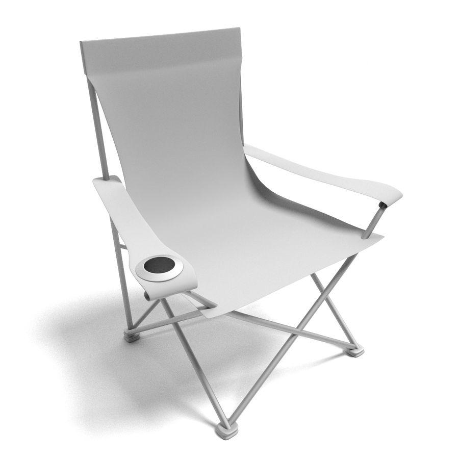 Sedia da campeggio royalty-free 3d model - Preview no. 5