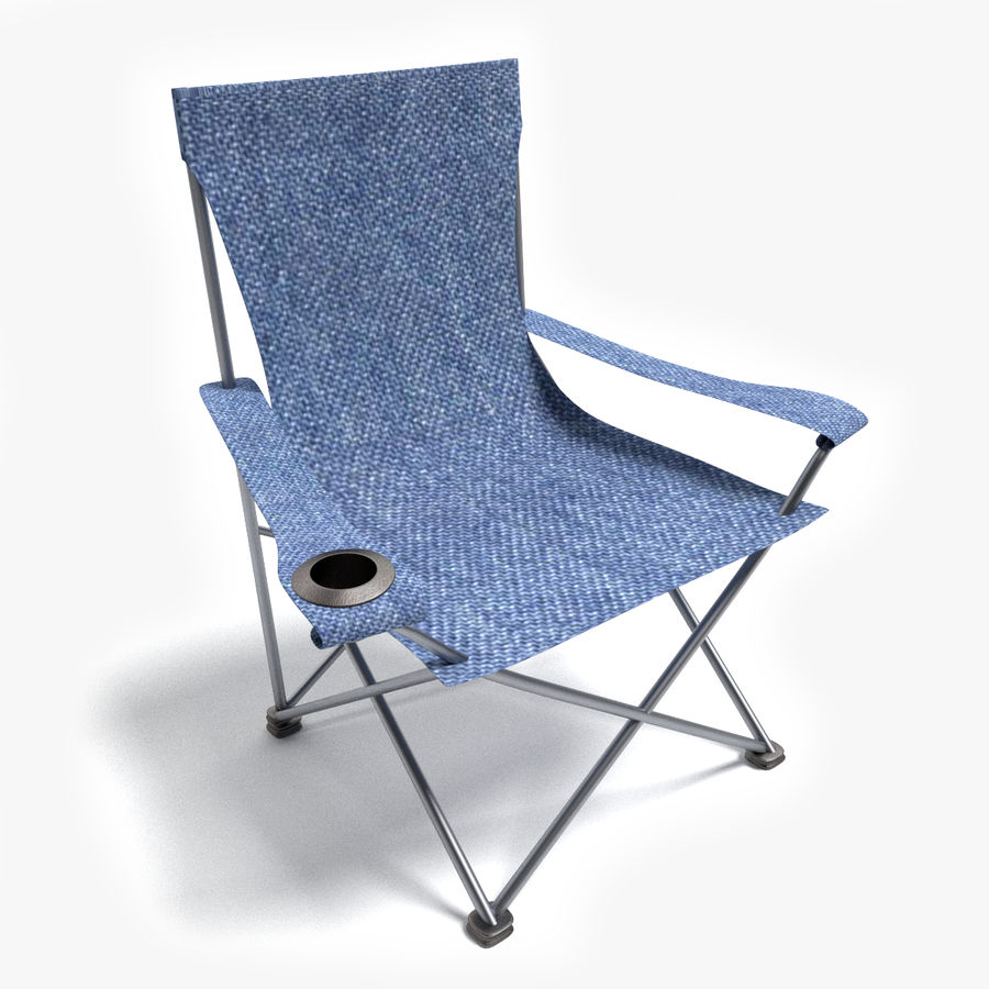 Camping Chair royalty-free 3d model - Preview no. 1