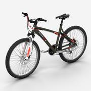 山地自行车2 3d model