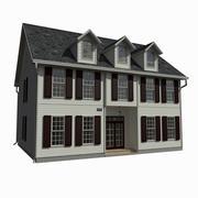 싱글 패밀리 하우스 11 3d model