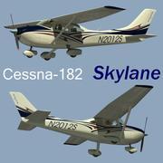 Cessna 182 Skylane 3d model