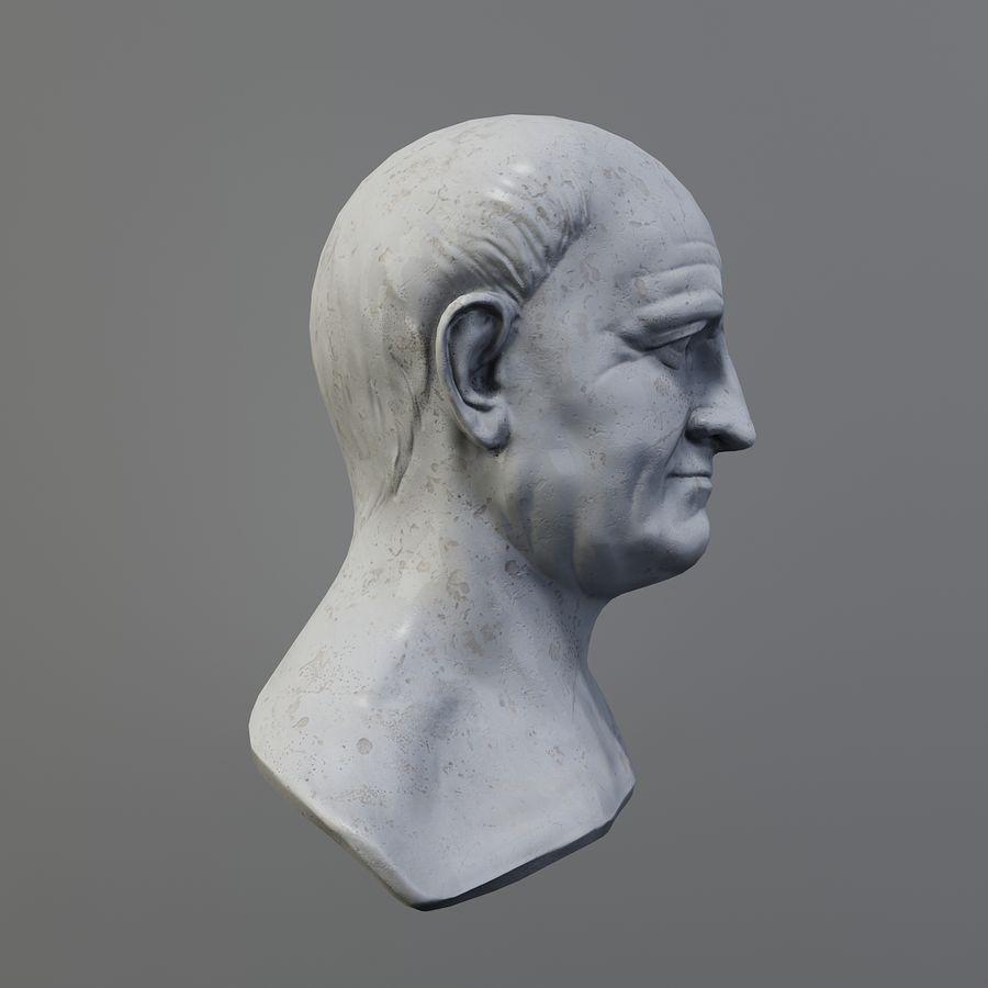 Vespasian royalty-free 3d model - Preview no. 4