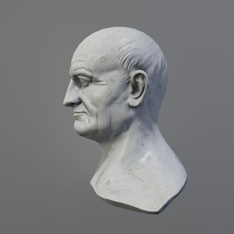 Vespasian royalty-free 3d model - Preview no. 5