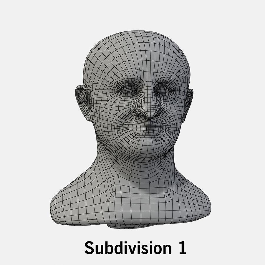 Vespasian royalty-free 3d model - Preview no. 9