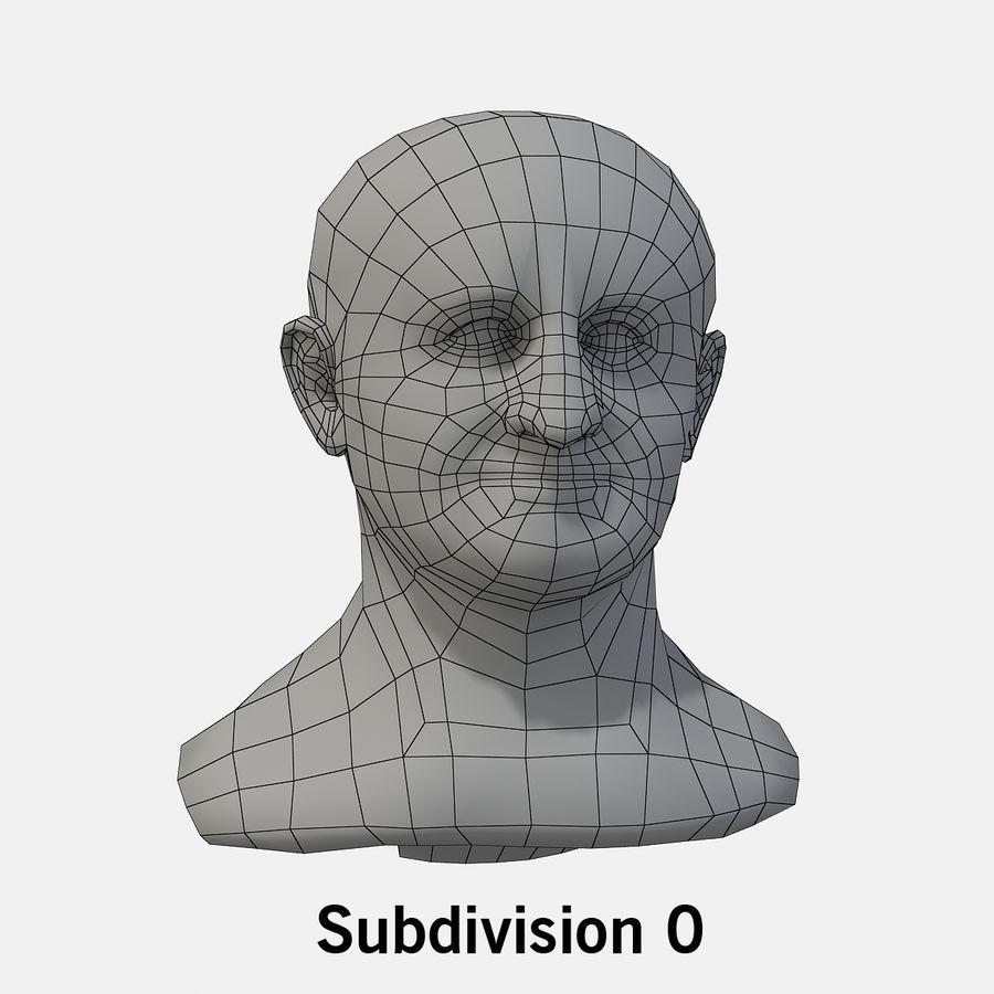 Vespasian royalty-free 3d model - Preview no. 2
