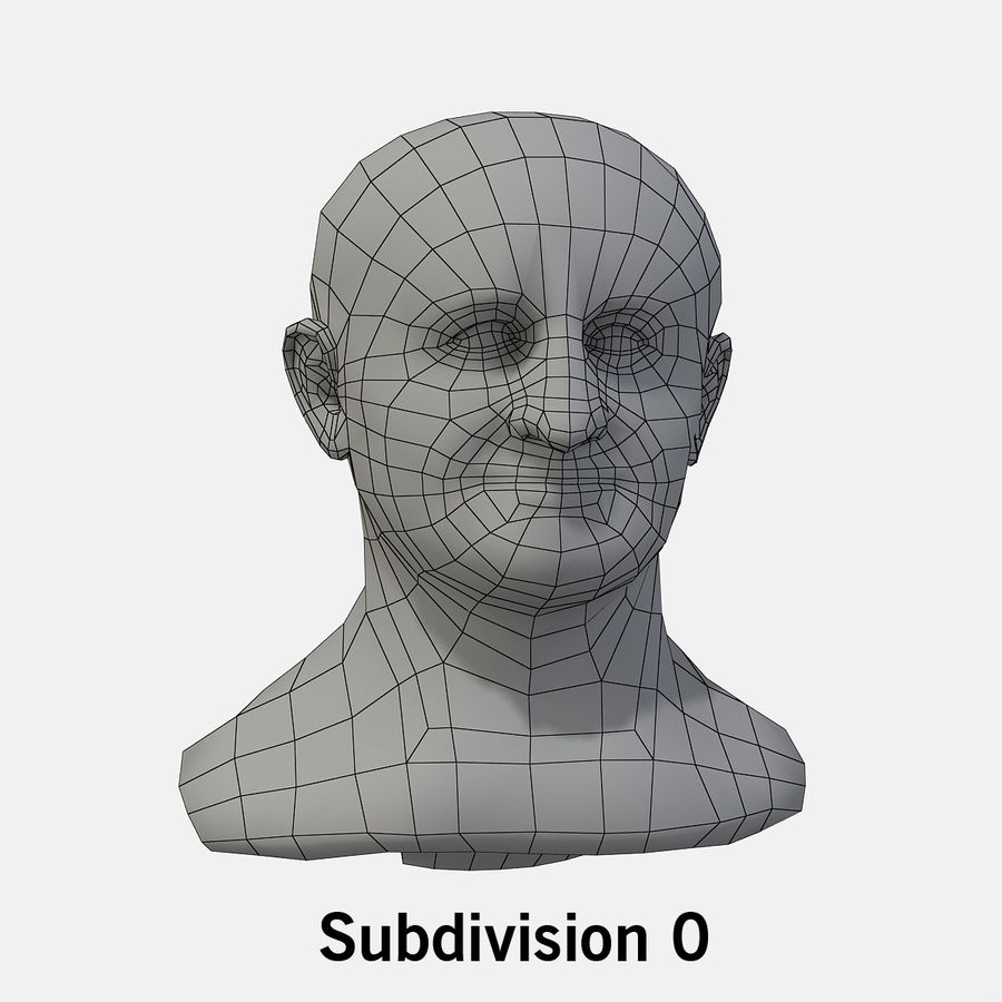 Vespasian royalty-free 3d model - Preview no. 8