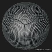 复古足球 3d model