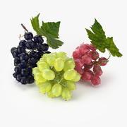 Realistic Grapes 3d model