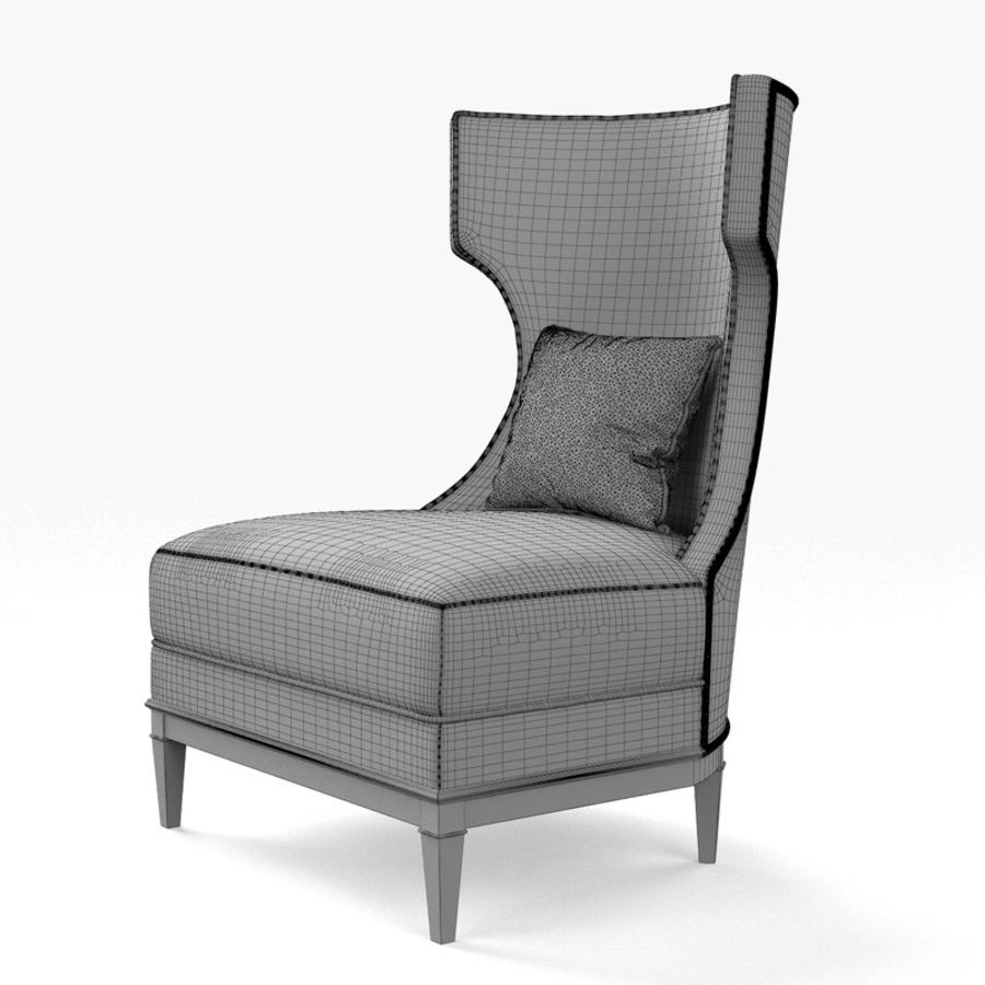 Admirable Bolier Modern Luxury Demi Wing Chair 92006 3D Model 30 Forskolin Free Trial Chair Design Images Forskolin Free Trialorg