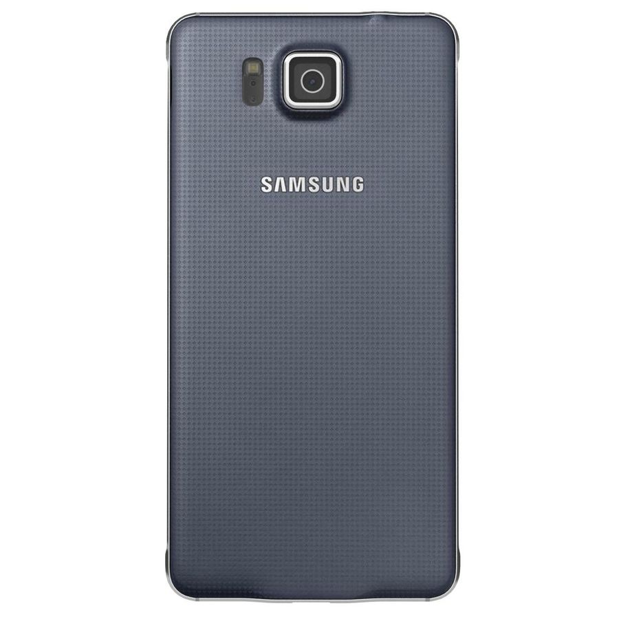 Samsung Galaxy Alpha Preto Carvão royalty-free 3d model - Preview no. 8