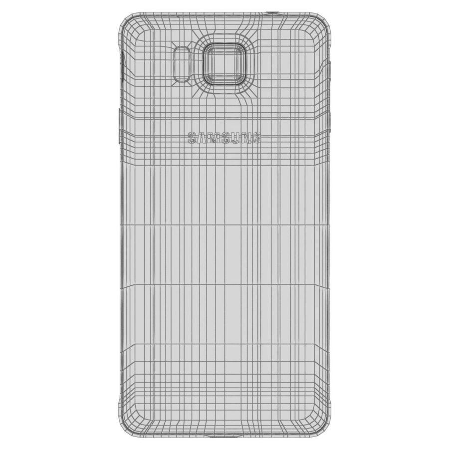 Samsung Galaxy Alpha Preto Carvão royalty-free 3d model - Preview no. 29