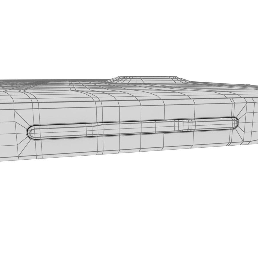 Samsung Galaxy Alpha Preto Carvão royalty-free 3d model - Preview no. 39