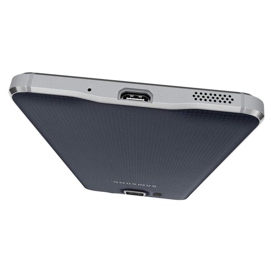 Samsung Galaxy Alpha Preto Carvão royalty-free 3d model - Preview no. 15