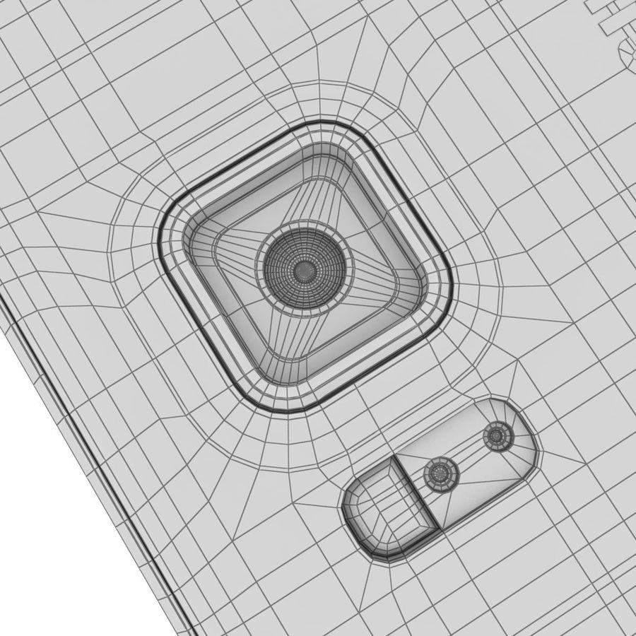 Samsung Galaxy Alpha Preto Carvão royalty-free 3d model - Preview no. 37