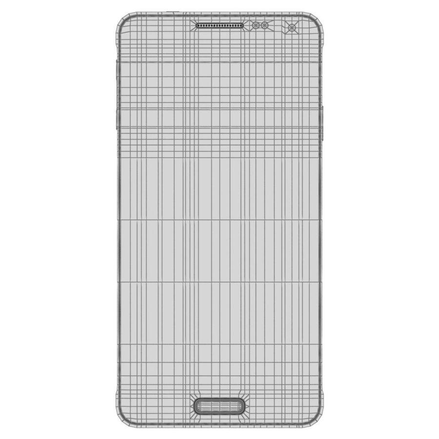 Samsung Galaxy Alpha Preto Carvão royalty-free 3d model - Preview no. 28