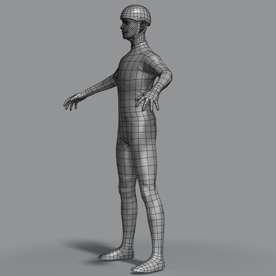 骑单车 royalty-free 3d model - Preview no. 12