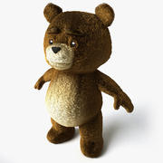 Urso Teddy 3d model