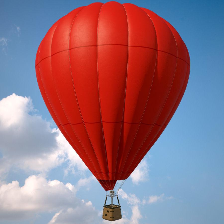 Luchtballon Coca-Cola royalty-free 3d model - Preview no. 11